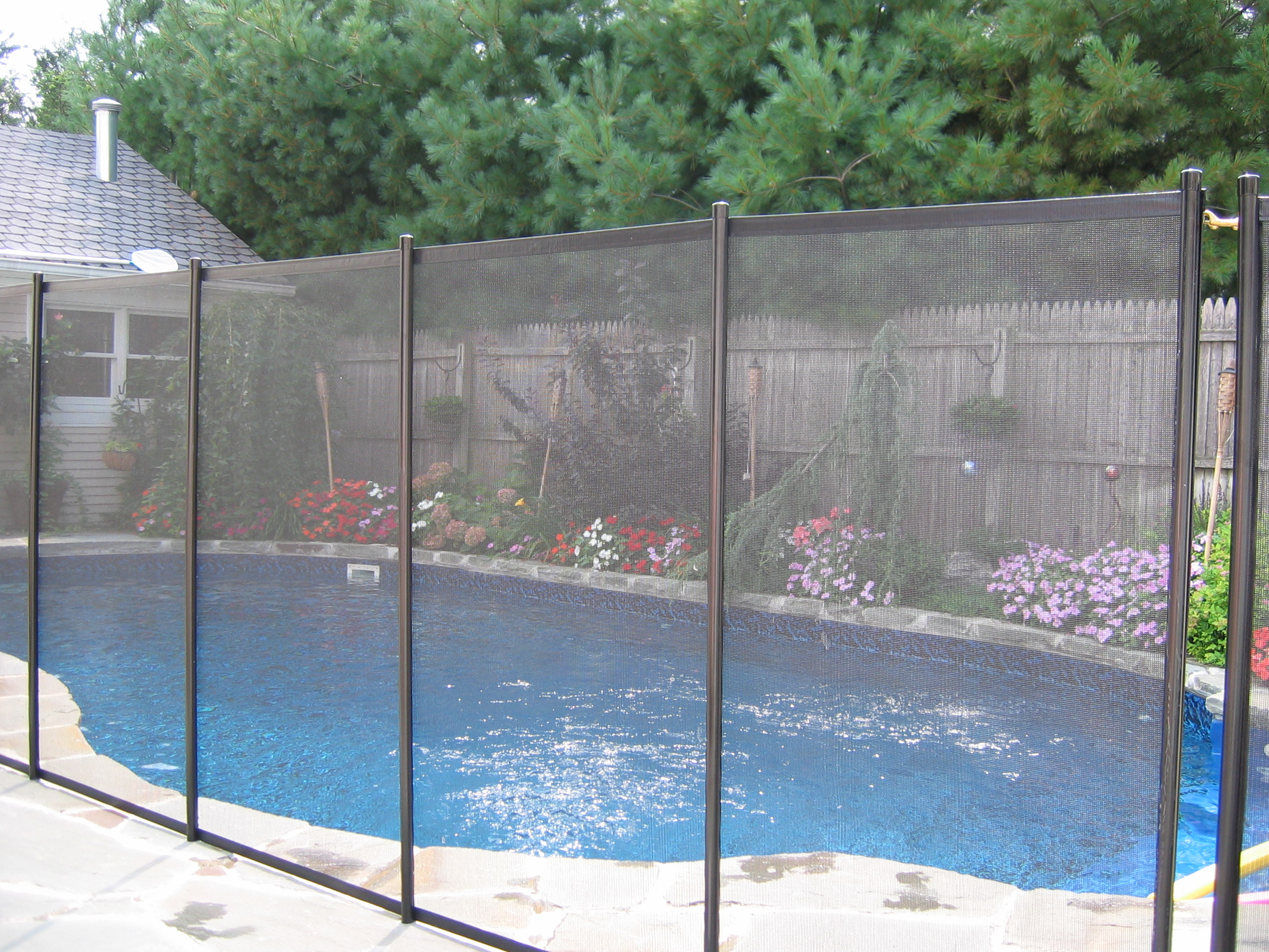 psf01 babyloc removable pool safety fence