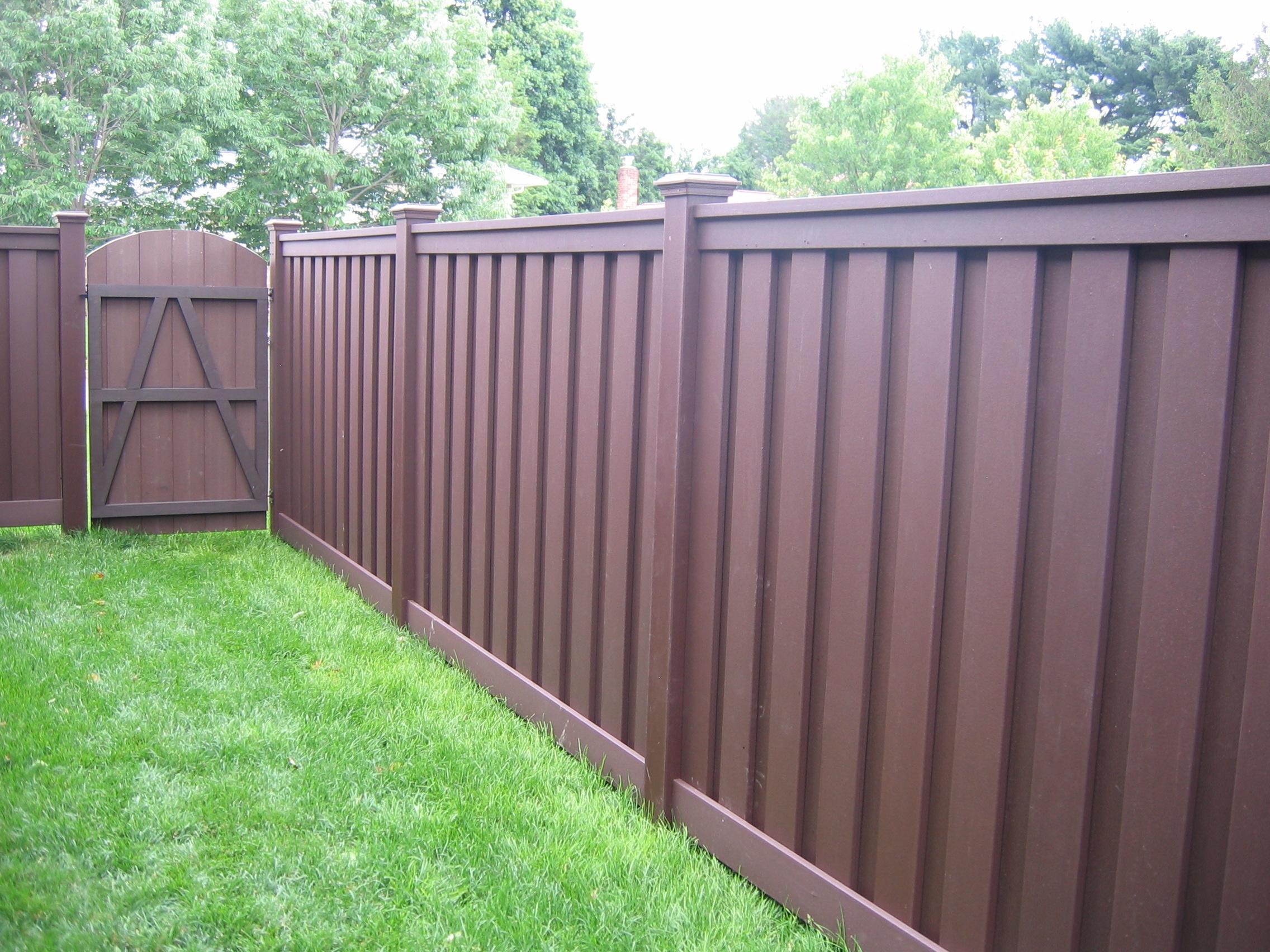 Composit Fence Photos