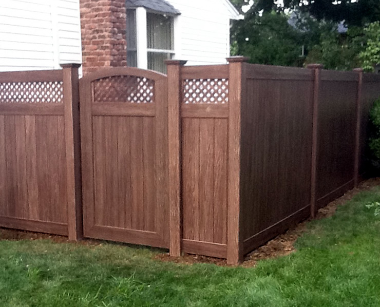 pvcf26 grand illusions vinyl woodbond pvc fence