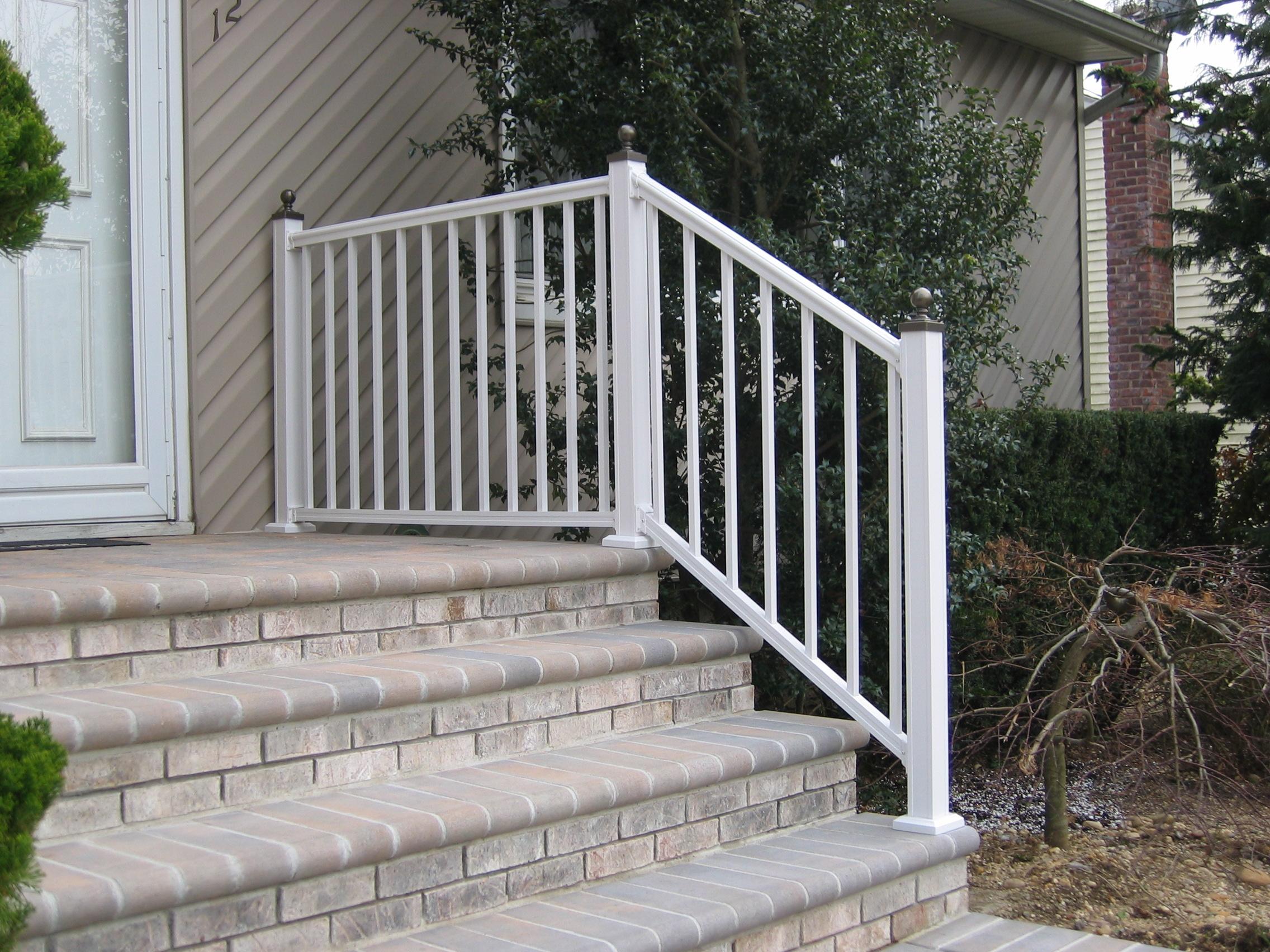 Rl arabian series aluminum railing white color with